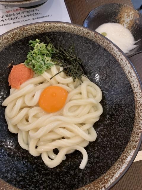 釜玉うどん 功刀屋(くぬぎや)>