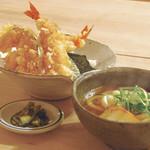 花車 - 天丼定食
