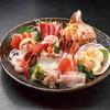 居酒屋 小ばちゃん - 料理写真:北海道魚介7点盛り(5人盛り)