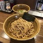ベジポタつけ麺えん寺 - ベジポタつけ麺(胚芽麺)800円