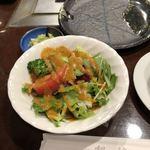 ステーキハウス松波 - サラダは、丁度良いボリューム