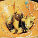 水軍の郷 - つぶ貝のわさび和え