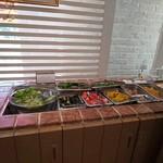 リューバンカフェ - サラダ
