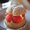 ジェネレ - 料理写真:苺のシュークリーム
