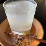 Chaanfuyou - 冷たぃ梅ジュース、焼酎入れてほしいなぁ(^_^;)