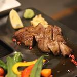 楽処ふるさと - 黒毛和牛いちぼステーキ