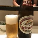 和風もつ料理 あらた - 瓶ビール