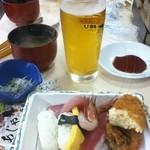 すし・さかなバイキング武田丸 - 寿司は若干乾き気味