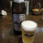 117224371 - 瓶ビール(中瓶) 500円 (2019.8)