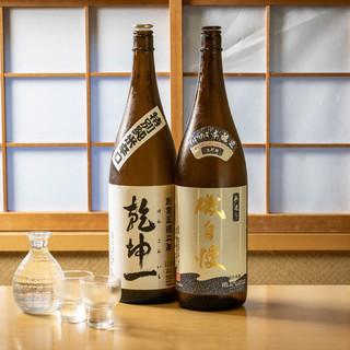 東北・静岡の地酒を揃えてます!