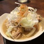 もつ焼 のんき - 煮込み¥180
