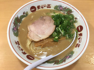 天下一品 赤坂店 - こってり(並)790円