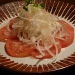 宮崎県日南市 塚田農場 - 宮崎特産食べる玉葱ドレッシングの完熟トマトサラダ
