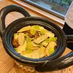 柚木元 - 松茸ご飯