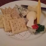ヘルメスワインコーナー - ミックスチーズ