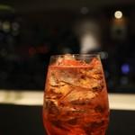 リーガロイヤルホテル大阪 - 1杯ずつ作ってくださいます カンパリ