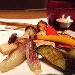 117235475 - 炙り旬菜のバーニャカウダー