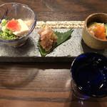 117236107 - お通しと最初の日本酒