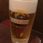 ぎょうざ一番 - 生ビール