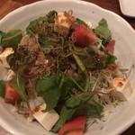 ぎょうざ一番 - じゃこと豆腐のサラダ