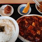 新川大勝軒飯店 - 日替わりの麻婆定食