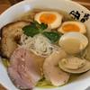 Mensyounakaue - 料理写真:魚介塩そば  780円