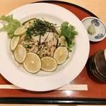 萩の茶屋 - 『冷やしへべすそば』様(860円)