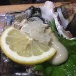 飲み喰い道楽 男魚魚 - 産地直送生牡蠣