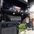 いわき  - 外観写真:歴史的町並みの一角を担う、黒塀の美しい建築。わらび餅専門「いわき」