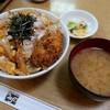とんかつ うちの - 料理写真:ロースカツ丼・ご飯大盛(980円)