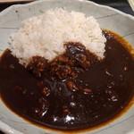 良彌 - [料理] ハッシュドビーフ プレート 全景♪W