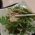 良彌 - 料理写真:[料理] 水菜と湯葉のサラダ アップ♪w