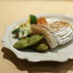 すし処 広川 - 太刀魚と丹波の黒豆と酢味噌和え☆