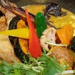RojiuraCurrySAMURAI.キャンプ - チキンと一日分の野菜20品目(マイルド)