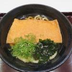 多賀麺宿  - 料理写真:きつねうどん500円