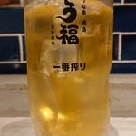 うな串 焼鳥 う福 - ジャスミン茶。