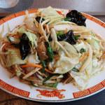 タイガー餃子会館 - 肉野菜炒め