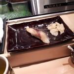 札幌魚河岸 五十七番寿し - さば、確か350円
