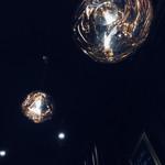 alcobareno - 天井のペンダントライト。新しいお店は、内装や設計、インテリアが気になる私(о´∀`о)