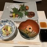 Arairyokan - 箸付、前菜