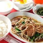 香港厨房 - レバニラ炒め