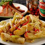香港厨房 - おつまみにぴったりの『なすの塩味揚げ』と『香港チャーシュー』