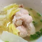 海と - 白菜鍋