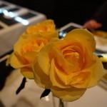 アトリエ M.O.F - 黄色いバラです。ゆりではありませんでした。