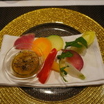 アトリエ M.O.F - 野菜とバーニャカウダー