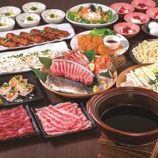 豪華絢爛!様々な豪華食材を贅沢に楽しめるおすすめのコース!