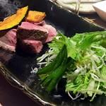 恵比寿 箸庵 - 鴨ロース焼き