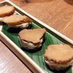 恵比寿 箸庵 - いぶりがっことクリームチーズ大好き❤