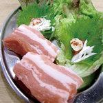 大阪焼肉・ホルモンふたご - 料理写真:名物ふたごのヘルシーサムギョプサル 680円