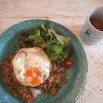 KITERU nishiazabu - 鶏ひき肉のココナッツ・ガパオ